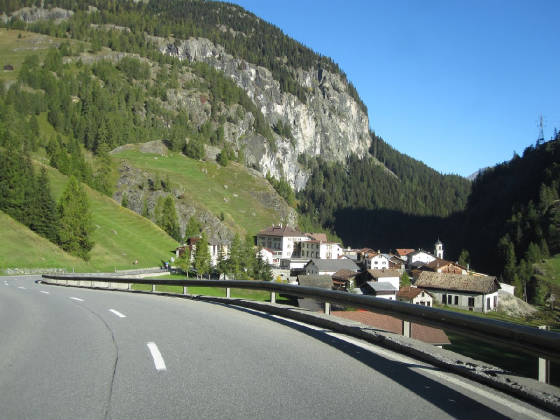 A side trip to the Engandine Valley in Switzerland